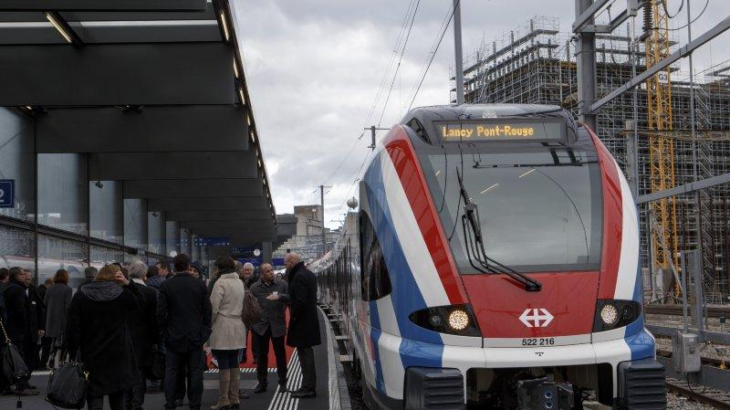 CEVA: première gare inaugurée à Lancy