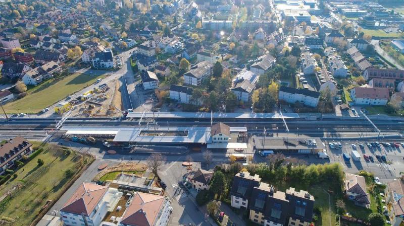Gland: la gare, ce nouveau coeur de ville