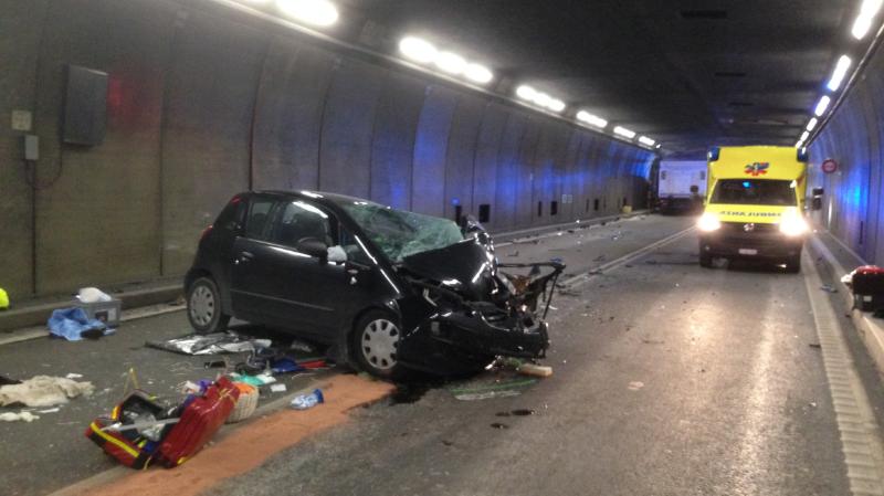 Tunnel du Gothard: un accident impliquant un camion fait deux morts et quatre blessés