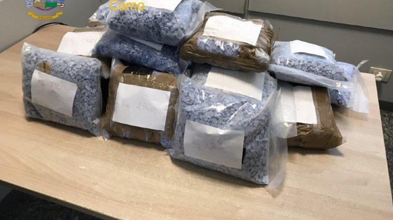 Drogues: 100'000 pilules d'ecstasy saisies à la douane tessinoise