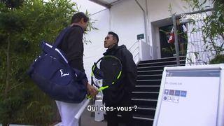 """""""Qui êtes-vous?"""": quand un vigile du tournoi de Bercy ne reconnaît pas Rafael Nadal"""
