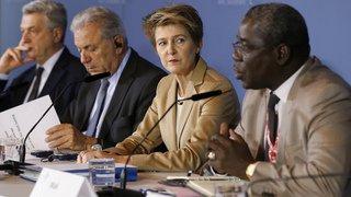 Débats internationaux à Berne: la Suisse demande une meilleure protection des migrants, notamment en Libye