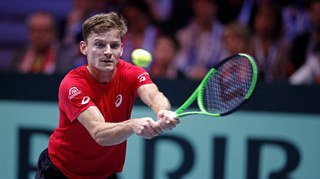 Coupe Davis: David Goffin bat Jo-Wilfried Tsonga et la Belgique égalise à 2-2 dans la finale