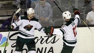 Hockey sur glace: El Nino offre la victoire  4-3 au Wild