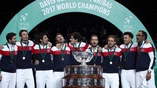 La France gagne une dixième Coupe Davis