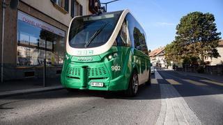 Des navettes autonomes testées sur les routes de Cossonay