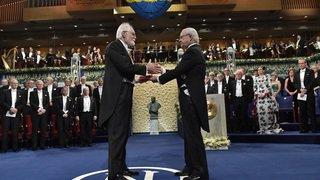 Jacques Dubochet a reçu son Prix Nobel en fin d'après-midi