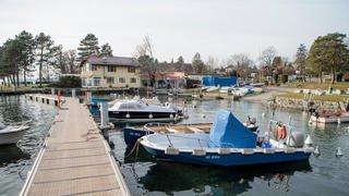Esquisse du port de Tannay et de la plage de Mies de demain