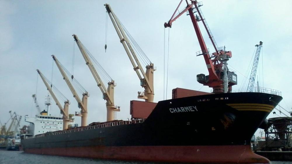 La Confédération est liée contractuellement aux propriétaires suisses de navires marchands. Ici le «Charmey», amarré au port de Casablanca,  au Maroc, en 2016.