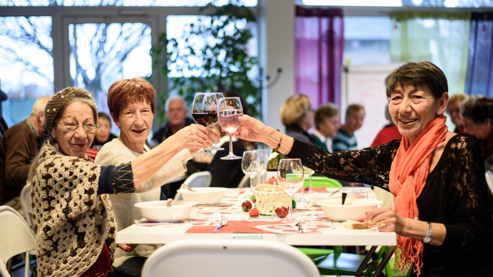 Velia Pelizzola et Maria Caputo ont préparé un repas italien pour les gens isolés pendant les fêtes.