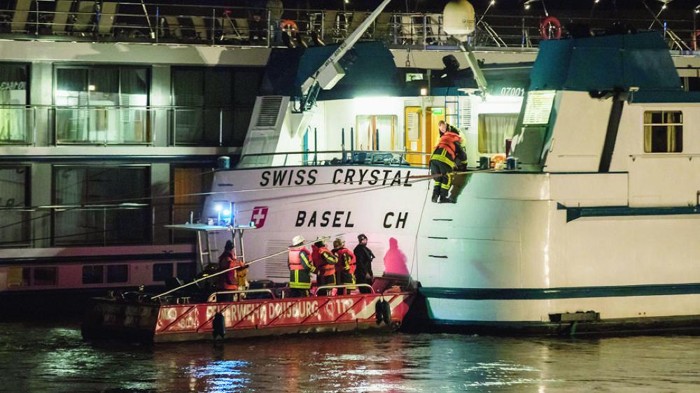 Le «Swiss Crystal» se rendait au port d'Arnhem, aux Pays-Bas.
