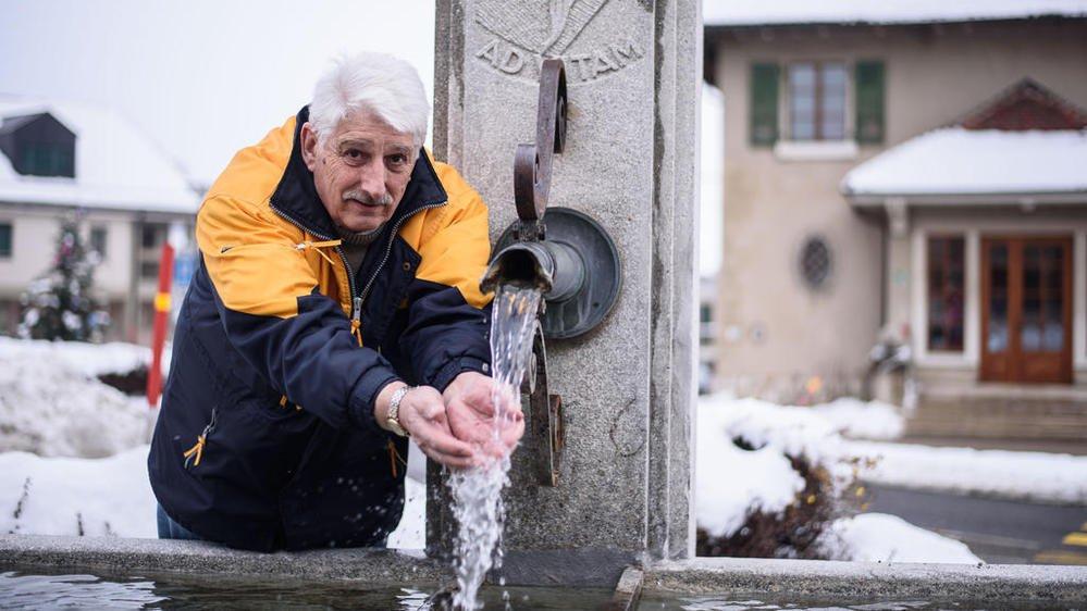 A Marchissy, trois fontaines de la commune n'étaient plus alimentées depuis octobre. indique Jean-Claude Bays, municipal des eaux.