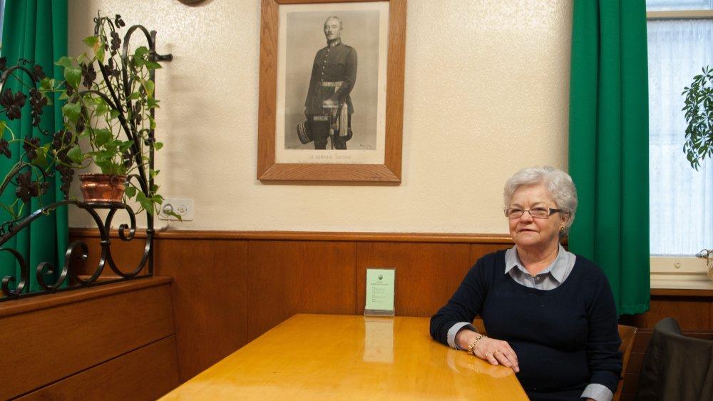 Denise Borcard a passé plus d'un demi-siècle à exploiter un restaurant, puis une pinte, devenue la dernière de Nyon.