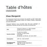 Table d'hôtes