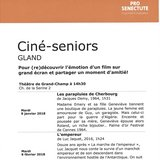 Ciné-seniors à Gland
