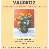Exposition - Charles Vaudroz