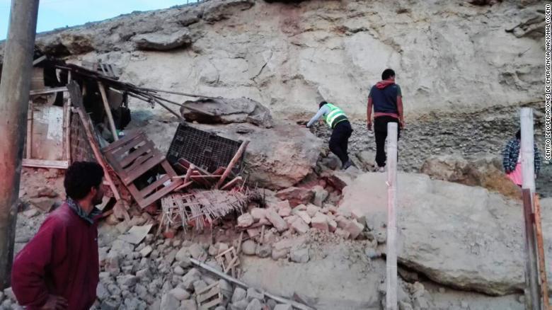 Pérou: un puissant séisme dans le sud du pays fait un mort et 55 blessés