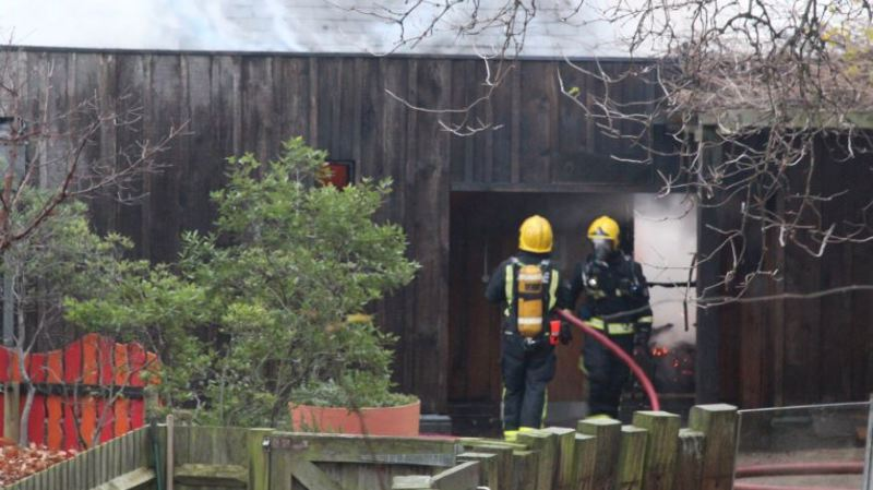 Grande-Bretagne: le zoo de Londres en proie à un incendie, un animal tué