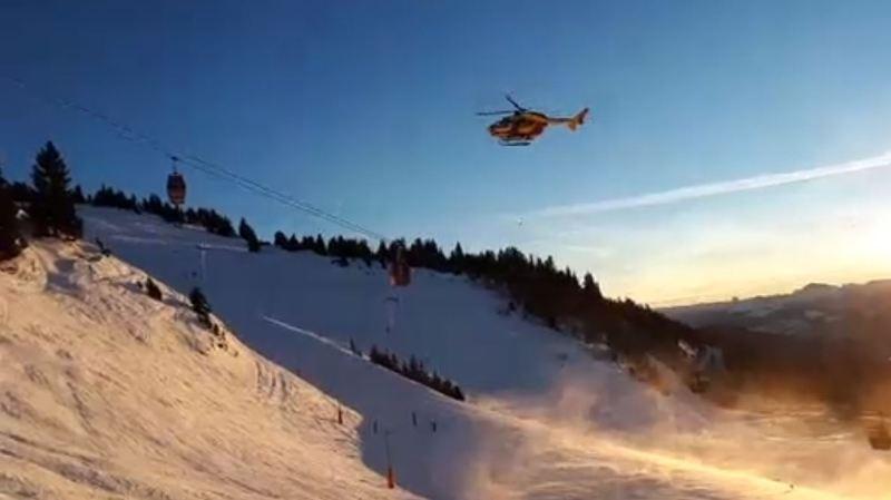 France: une télécabine tombe en panne à Chamrousse, plus de 150 skieurs évacués