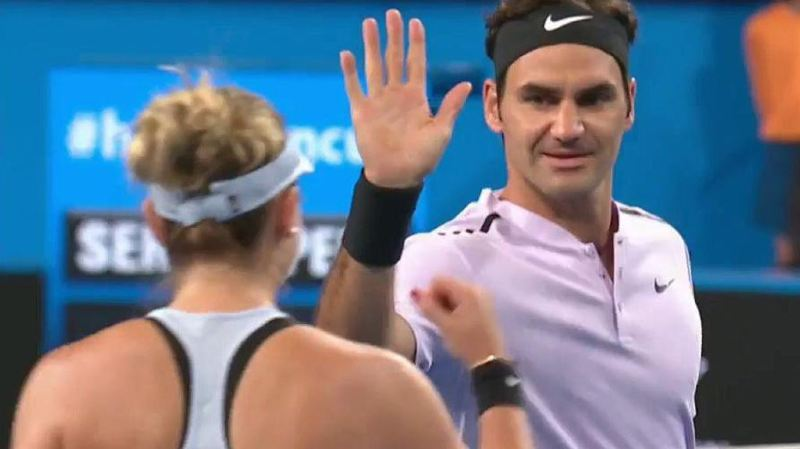 Tennis: Federer et Bencic offrent à la Suisse une troisième Hopman Cup