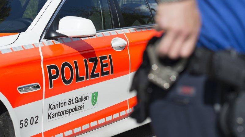 Le cambriolage a été commis vers 3h du matin, a indiqué la police cantonale saint-galloise samedi dans un communiqué. (illustration)