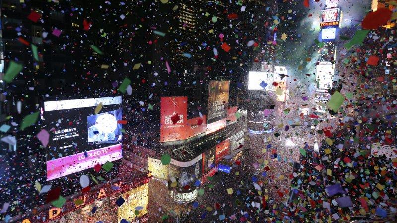 New York: sécurité renforcée pour Nouvel An à Times Square