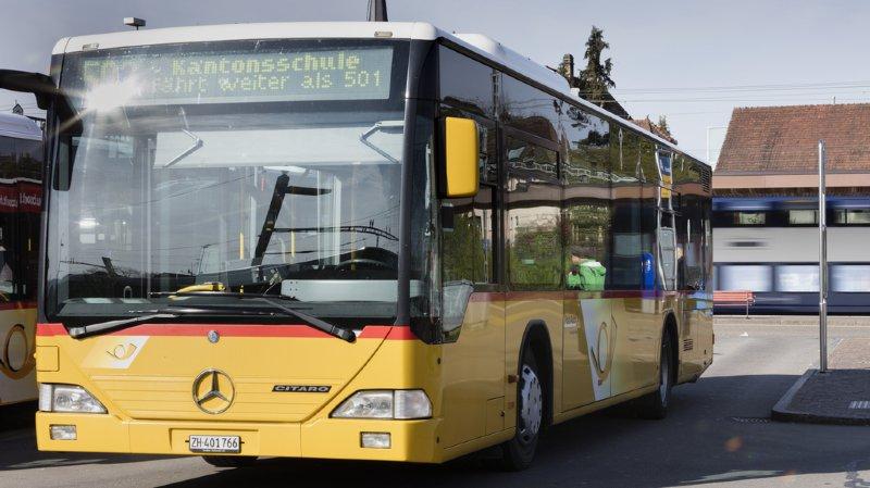 Zurich: un car postal braqué par un homme armé à Andelfingen