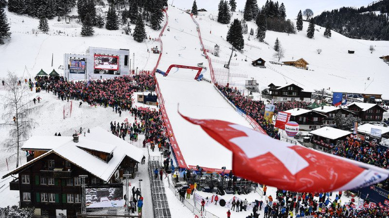 Ski alpin: les courses d'Adelboden sont maintenues après la tempête Eleanor