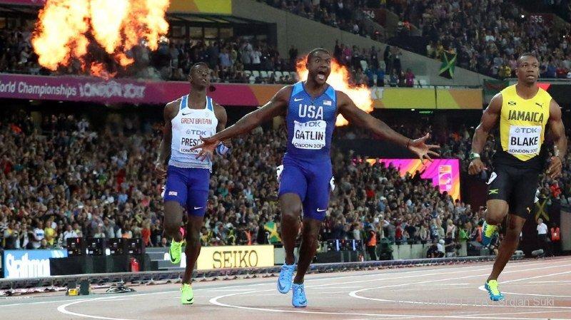 Athlétisme: le sprinter américain Justin Gatlin au coeur d'une nouvelle affaire de dopage