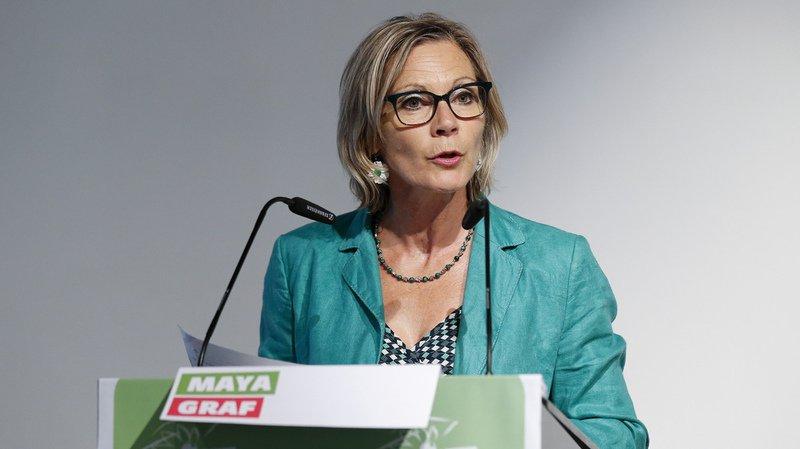 Le texte de la Bâloise Maya Graf proposait de préciser dans la constitution que les sexes doivent être équitablement représentés au Conseil fédéral.