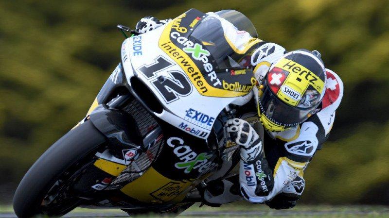 Motocylisme: le Suisse Thomas Lüthi est remonté en selle depuis son accident