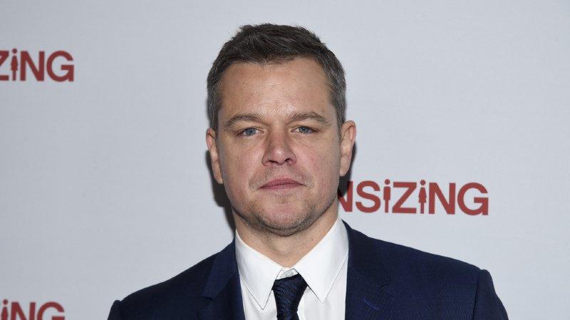 Une pétition demande le retrait de Matt Damon de son prochain film