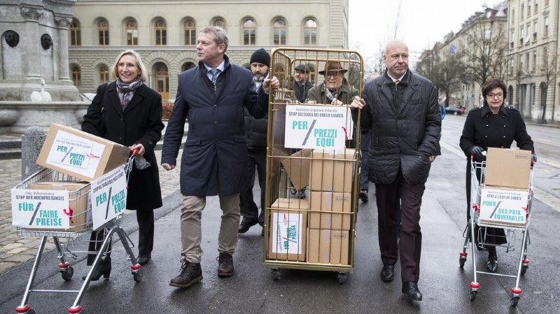 L'initiative pour lutter contre l'îlot de cherté suisse a abouti