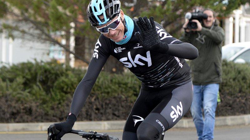 Dopage: le président de l'UCI souhaite que Sky suspende Froome