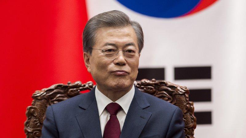 Corée du sud: le président Moon Jae-In ouvert à l'idée d'un sommet avec Pyongyang