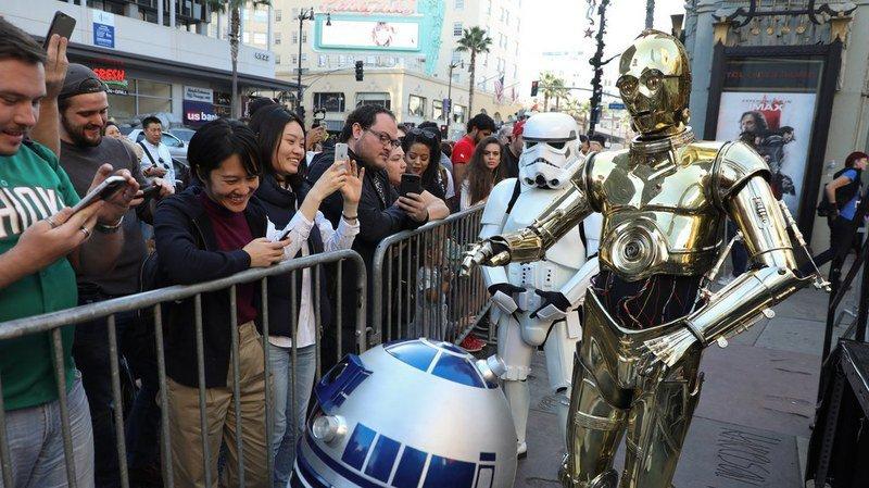Le huitième épisode de la saga Star Wars a réalisé la deuxième meilleure performance de l'histoire pour son week-end d'ouverture au box-office nord-américain.