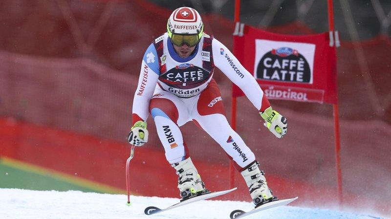 Coupe du monde de ski alpin: Beat Feuz rate le coche au Super-G de Val Gardena