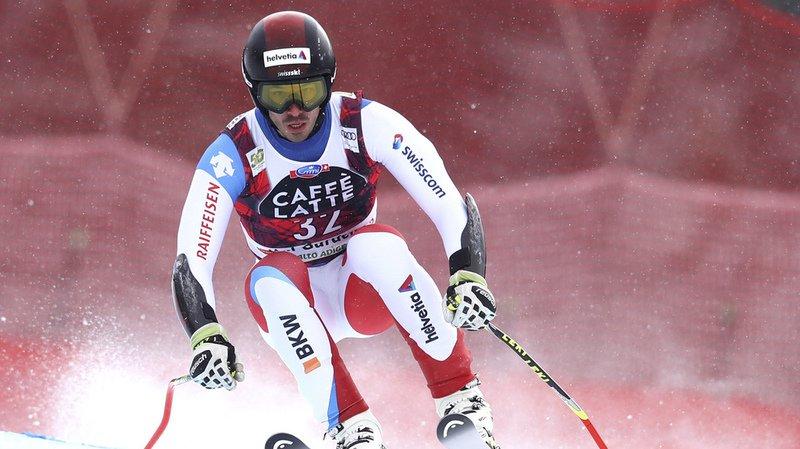 Ski alpin: le Suisse Gilles Roulin termine à une superbe 4e place lors de la descente de Val Gardena