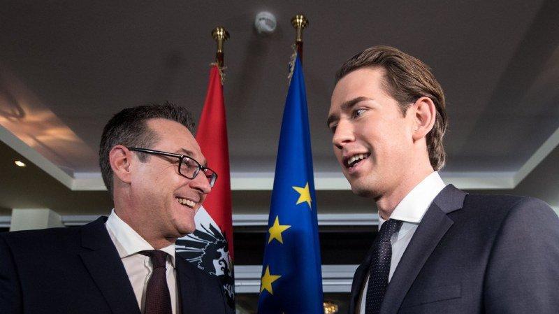 Autriche: l'extrême-droite obtient 3 ministères au gouvernement