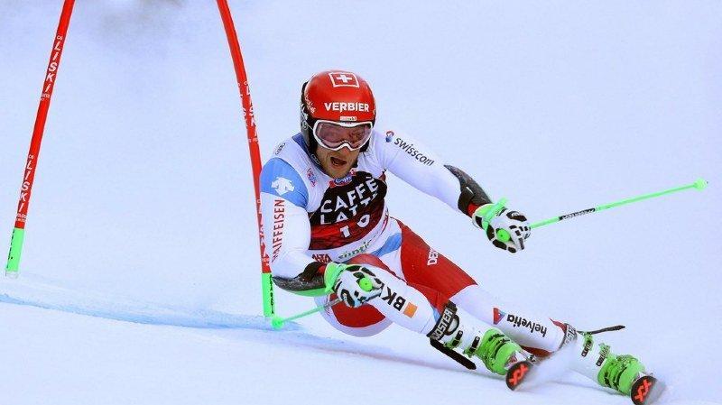 Ski alpin: Justin Murisier, 7e, à nouveau le meilleur Suisse lors du géant parallèle d'Alta Badia