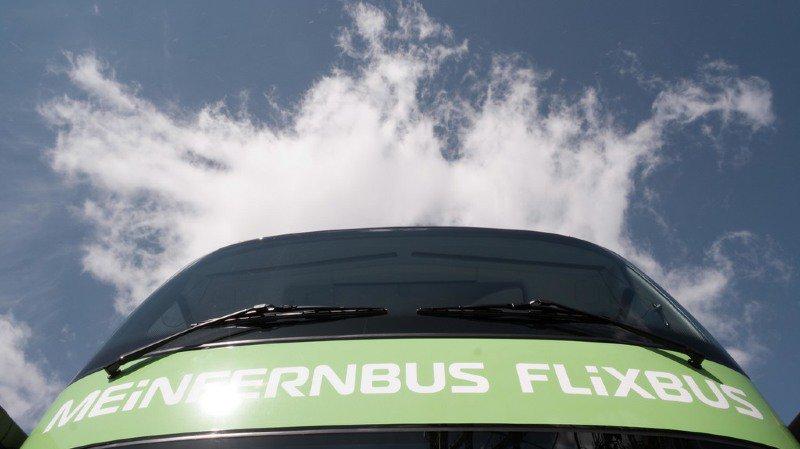 Flixbus a transporté 1,2 million de passagers suisses dans ses autocars en 2017