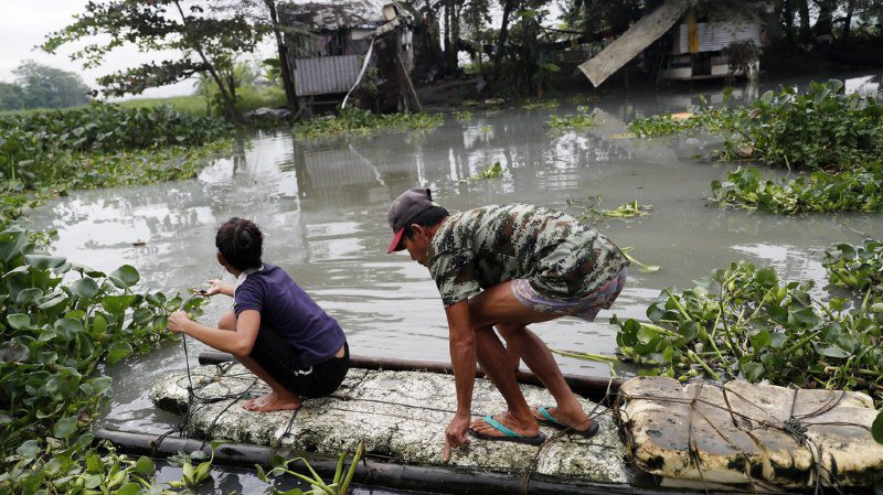 Philippines: au moins 180 personnes tuées par la tempête tropicale Tembin