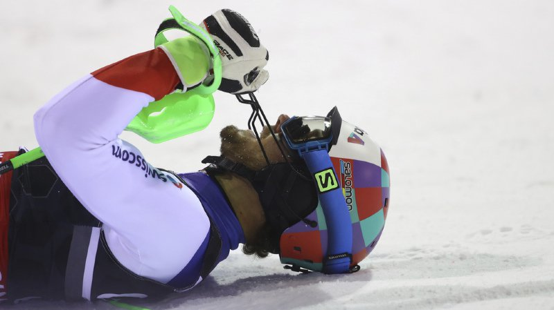 Ski alpin: Luca Aerni deuxième du slalom de Madonna di Campiglio, Daniel Yule 4e