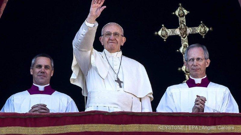 Le pape François a aussi évoqué le sort des Irakiens et des Syriens.
