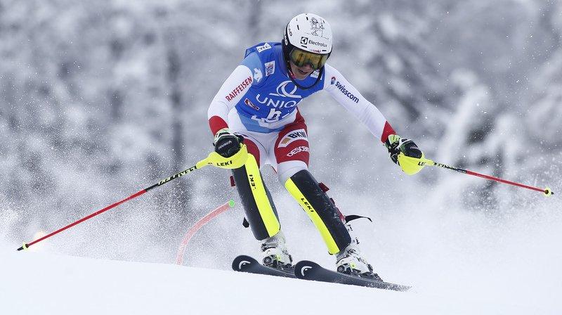 La Schwytzoise Wendy Holdener possède une marge de 0''30 sur la 4e, la Slovaque Petra Vlhova.