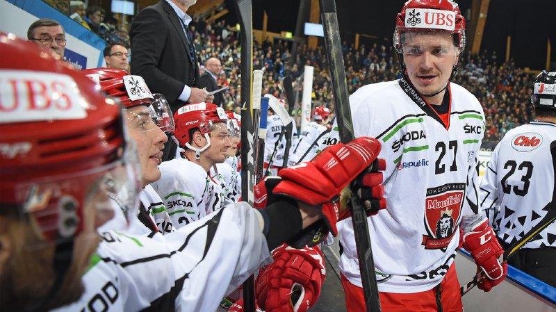 Les Tchèques ont remporté 4-1 leur quart de finale contre Dinamo Riga.