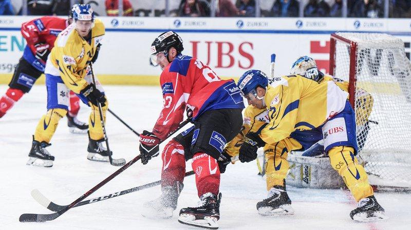 La sélection helvétique s'est imposée largement 8-3 contre Davos en demi-finale.
