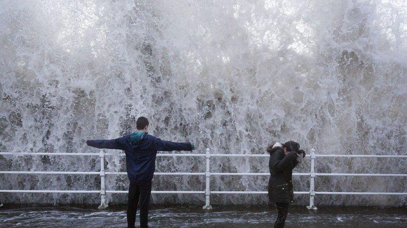 Tempête Eleanor/Burglind: les vents ont fait 3 morts en France et en Espagne
