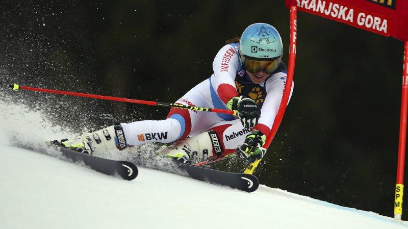 Ski alpin: Wendy Holdener termine 4e du géant de Kranjska Gora remporté par Shiffrin