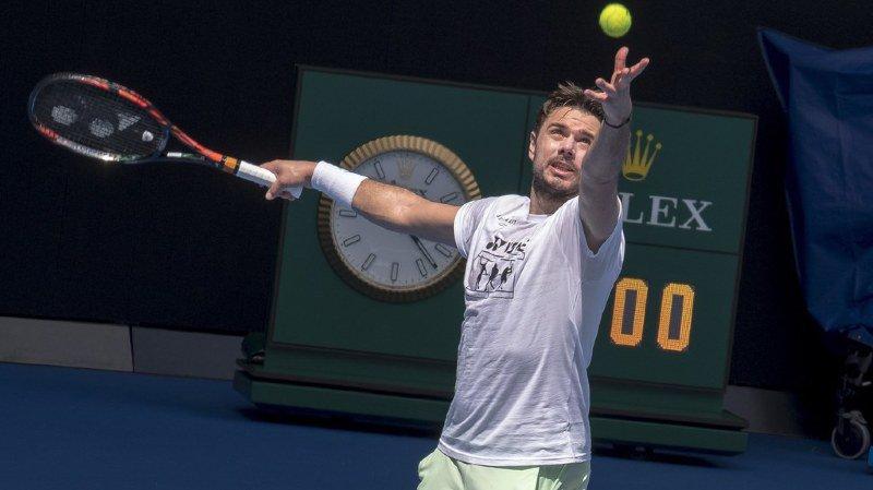 Tennis: Wawrinka forfait pour un tournoi d'exhibition quelques jours avant l'Open d'Australie